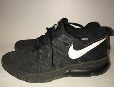 NIKE Fingertrap Air Max Amp Black Training Sneakers Running Shoes Mens Size 8 #j