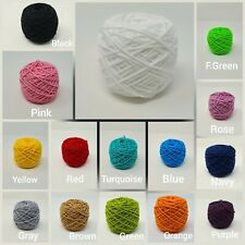 15 Multi Colors Elastic 3mm Super Soft Cord Cording Made for Mask