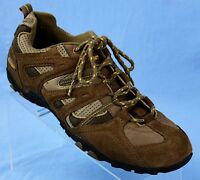 Hi-Tec Vera Cruz Brown/Grey Suede Walking/Hiking/Trail Shoes Mens Size 10
