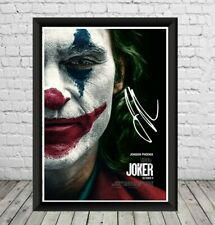 Joker Signed Joaquin Phoenix Photo Print Poster Memorabilia