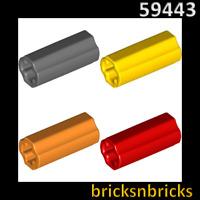 6538c LEGO 10x Technic Light Bluish Grey Connector 2L NEW!!!!!