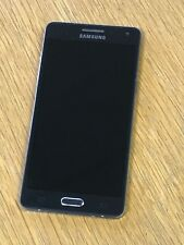 Samsung Galaxy A5 SM-A500FU - 16GB Midnight Black Unlocked Mobile Phone WORKING