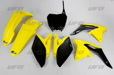 Kit plastique UFO motocross Suzuki RMZ 250 2011 - 2012 origine jaune