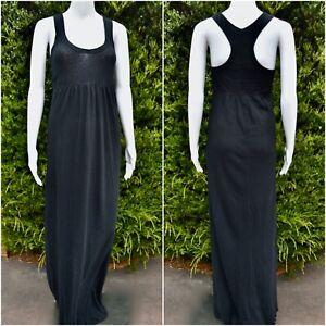 JAMES PERSE Black Maxi Dress - Size 2 (AU10) - VGUC