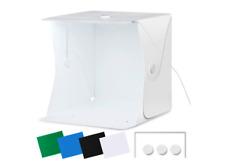 "Portable Photo Studio 16""x16""/40x40cm LightBox Foldable Shooting Tent - NEW"