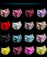 Women's Soft Underpants Seamless Lingerie Briefs Hipster  Underwear Purple 19New
