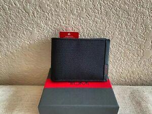 Tumi 93737-1041 Men's Black Alpha Billfold Wallet