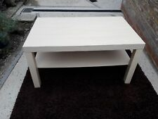 Wood coffee Table with Shelf. Birch Effect. (90x45X55)