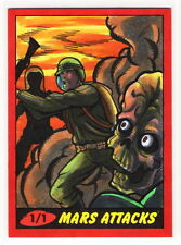2012 TOPPS MARS ATTACKS HERITAGE 50th Anniversary Rich Molinelli 1/1 Sketch Card