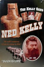 NED KELLY SUCH IS LIFE Memorabilia Metal tin Sign