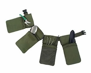 Famboo Canvas Waterproof Garden Tool Belt Pouch With Adjustable Strap Heavy D...