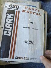 Bobcat 520 Skid Steer Parts Manual