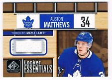 2018-19 SP Game-Used Locker Essentials Jersey #LE-AM Auston Matthews