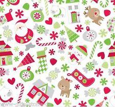 REST Holiday Kinderstoff Patchworkstoff Stoff Weihnachten Weihnachtsstoff