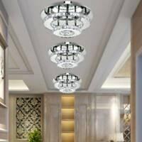Modern 36W LED Crystal Ceiling Light Kitchen Bed Living Room Crystal Chandelier