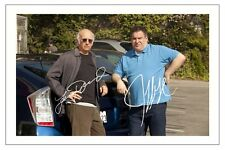 LARRY DAVID & JEFF GARLIN CURB YOUR ENTHUSIASM AUTOGRAPH SIGNED PHOTO PRINT