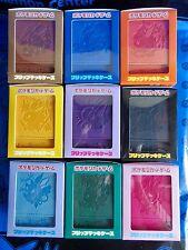 POKEMON CENTER LTD EEVEE Collection 2017 Official Flip Card CASE Complete 9P Set