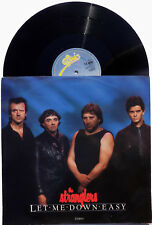 "STRANGLERS 12"" Let Me Down Easy UK GLOSSY Sleeve 3 Track 1985 UNPLAYED A1 / B1"