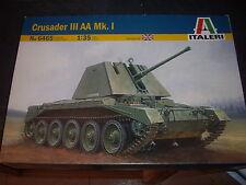 ITALERI CRUSADER III AA MK.I PLASTIC MODEL 1/35