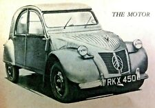 MINIATURE MOTORING, BUBBLE CARS, 3 & 4-WHEELERS -1957 - Removed from The Motor
