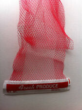 "Fresh Produce Header mesh bag 24"" Long  500 count"