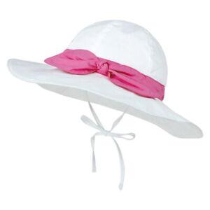 Kids Baby Boys Girls Sun Protection Hat Wide Brim Fisherman Beach Sun Bucket L/P