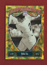 NELLIE FOX 2013 Panini Cooperstown GOLD Crystal PARALEL Ser #'d /299  #19 SOX