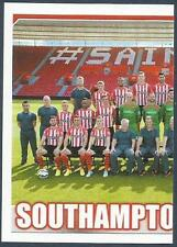 TOPPS 2014/15 PREMIER LEAGUE #376-SOUTHAMPTON TEAM PHOTO-LEFT HALF
