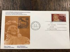 New listing stamps Canada 🇨🇦, Frontenac - Sc# 561, Post Office Fdc - 1972