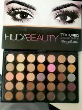 NEW Huda Beauty Rose Gold Edition Textured Eye Shadows Palette 35 Colours UK 35w