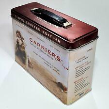 3-DVD Survival Tinbox CARRIERS Limited Edition dt. Seuche/Horror/Virus/Endzeit