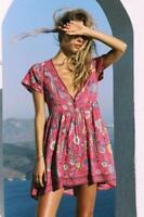 Spell Designs Lovebird Mini Dress Rose - Size L