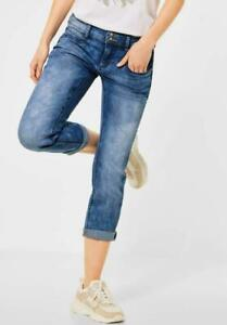 Street One Damen Denim Jeans Hose im Style Jane blau wash A374065-13141-4 NEU