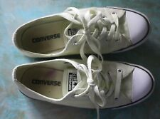 Converse dainty pale lime minty green trainers shoes 38 5