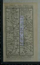1785 Paterson Strip Map - Wooler, Coldstream, Greenlaw, Norton Inn, Blackshields