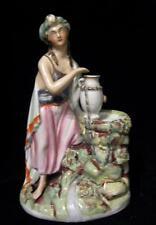 """ORIGINALE C19th STAFFORDSHIRE FEMMINA Personaggio con urna basato su """" ARABIA """""""