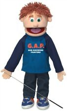 "Silly Puppets Caucasian Boy ""GAP - God Answers Prayers"" 25 Inch Full Body Puppet"