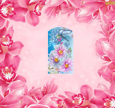 Nail Wraps Folie Tattoo Sticker Fullcover 14 Stk. Blumen - 66