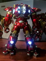 2019 Comicave 1/12 Iron Man MK44 Hulkbuster Action Figure Alloy Led Model