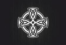 Sticker adesiva adesivi tuning auto celtico trinity triquetra croce knot rA8