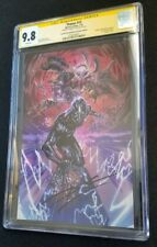 THANOS #15 4th Print Virgin- CGC SS 9.8 - 1st Silver Surfer Black -Signed Cates