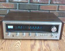 Vintage Pioneer Classic Stereo Receiver SX-434 Wood Grain 75 Watts ~ Works!