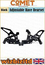 Comet Black Adjustable Rearset Ducati 1199 Panigale/S  RSDU06BK