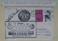 s1495) Raumfahrt Space Apollo 17 tracking team CC Dec 7, 1972 mit Autopen Duke