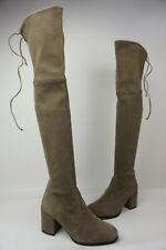 Stuart Weitzman Hinterland Praline Grey Over The Knee Boots Size 6 M