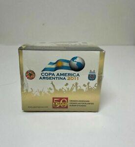 Panini Copa America 2011 Neymar Rookie Sealed 50 Pack Sticker Box-250 Stickers