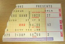 1975 The Allman Brothers Band Los Angeles Concert Ticket Stub Win, Lose Or Draw
