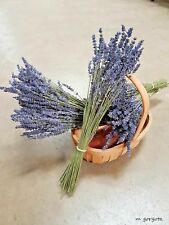 NATURAL DRIED LAVENDER BUNCH .