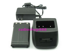 Battery & Charger for KENWOOD PB-43 PB-43N TH-K2AT TH-K2E TH-K2ET TH-K4AT TH-K4E