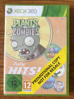 PopCap Hits Vol 2 Plants vs Zombies (Xbox 360) Brand New Sealed PAL